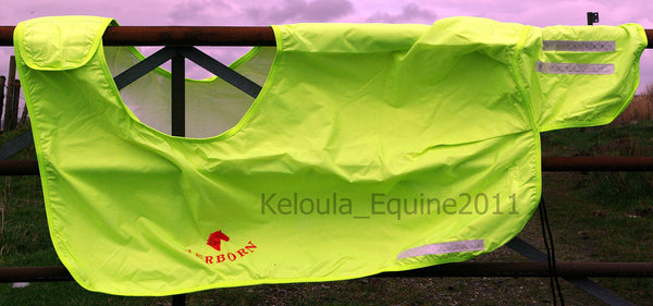 "AERBORN Waterproof Wrap Around Sheets - Fluorescent - Sizes 3'9"" & 4'3"""