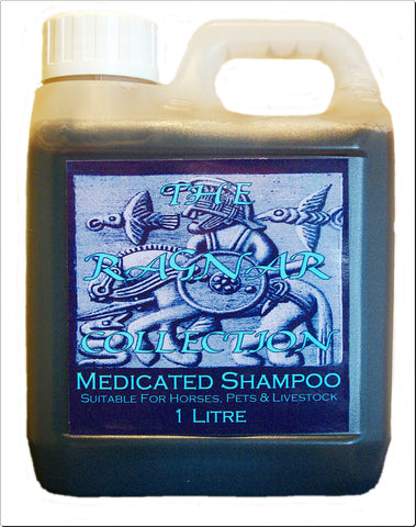 MEDICATED SHAMPOO - For Horses, Pets & Livestock