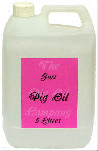 PIG OIL - 5 Litres - Perfect for your Horses Mane & Feathers