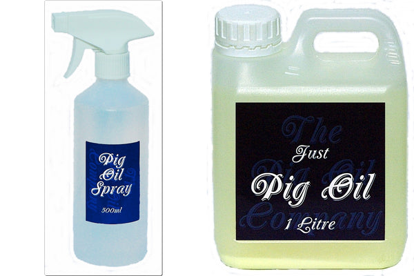 twin Pack- 500ml & 1 Liter Pig Oil- The Pig Oil Company