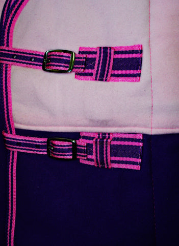 Fleece/Cooler/Travel Rug - Excellent Quality -All Sizes.Pink/Purple