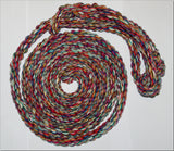 BRITISH-MADE ROPE HALTERS - Soft/Durable-16mm Thick- White & Multi