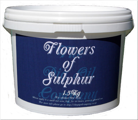FLOWERS OF SULPHUR - 1.5Kg-
