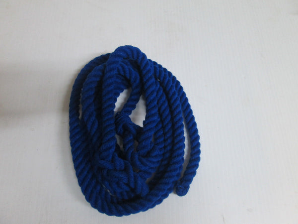 British-Made-ROPE-HALTERS-Soft-and-Durable-RED-Or-BLUE