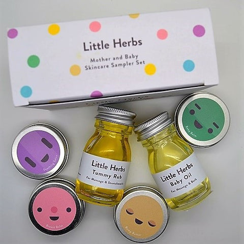 Little Herbs Sampler Set - six travel and trial sizes