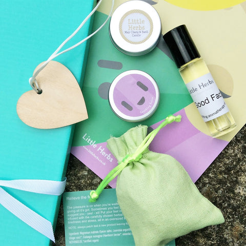 Stress Buster Mini-Hamper: letter-box gift