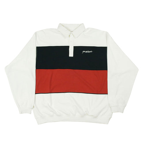 Heat Longsleeve Polo White