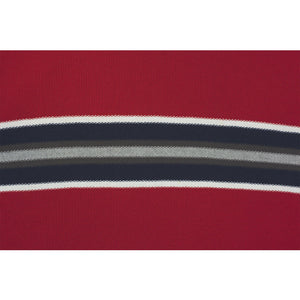 Airway Knit Long-Sleeve Red