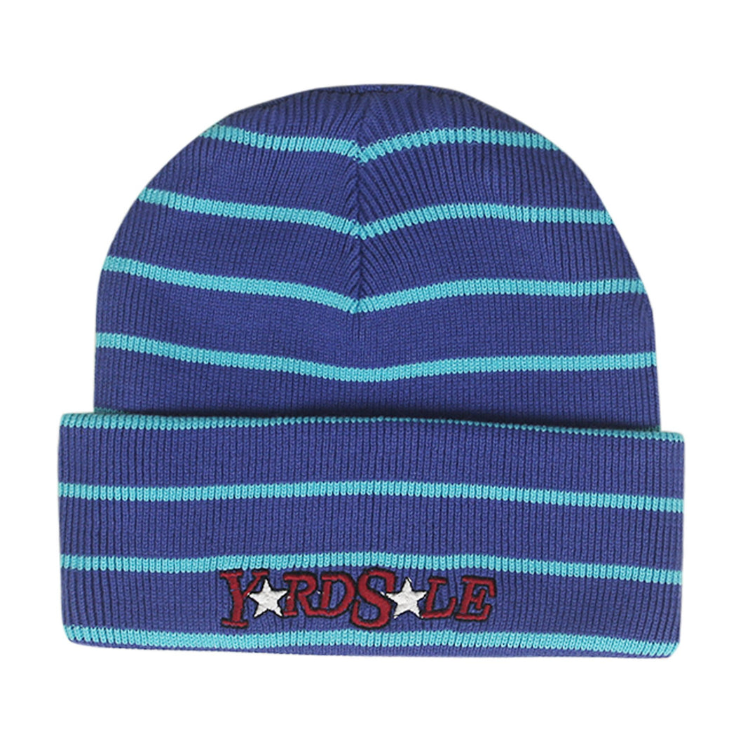 Magic Stripe Beanie (Purple/Blue)