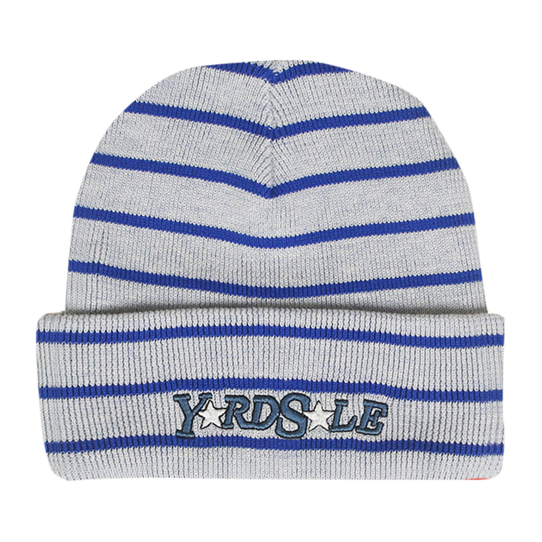 Magic Stripe Beanie (White/Black)