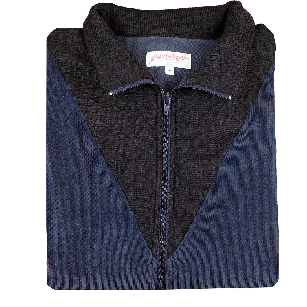 Alan Velour/Cord Jacket Navy