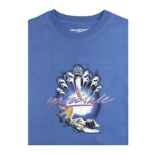 Scream T-shirt Blue