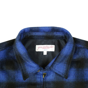 Tartan Harrington Jacket Blue/Black