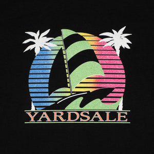 Sail Boat T-shirt (Black)