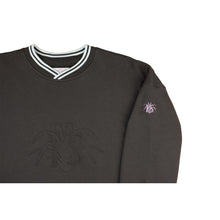 Charcoal YS Embossed Sweatshirt