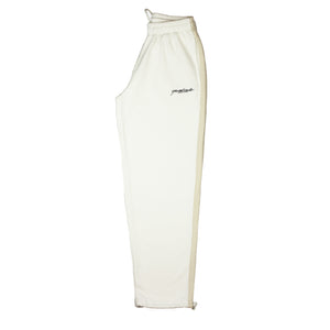 2tone Tracksuit Bottoms Cream/Tan