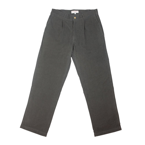 Corduroy Slacks Charcoal