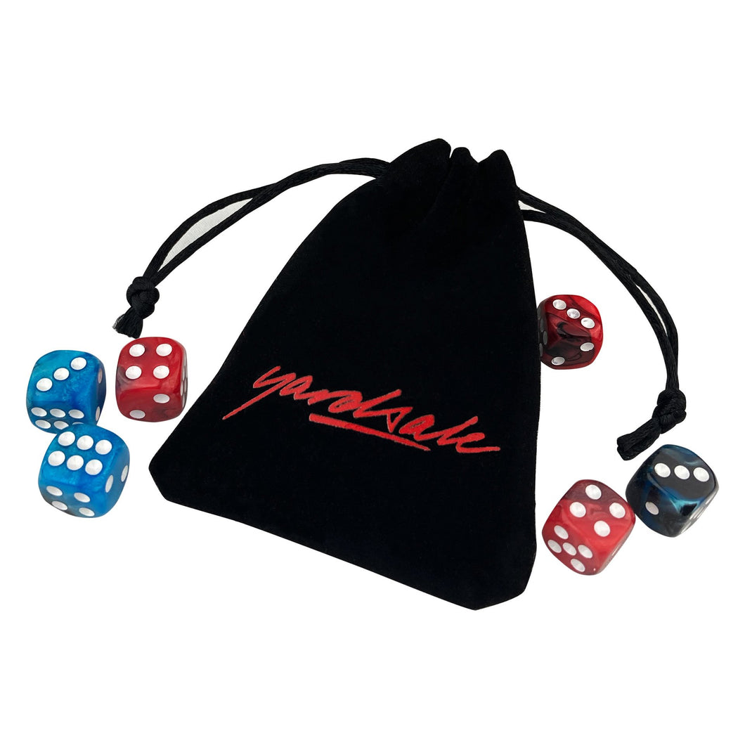 Gemini Dice and Pouch