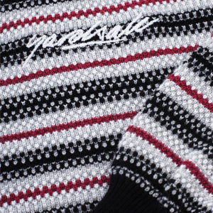 Visage Knit (Black/Red)
