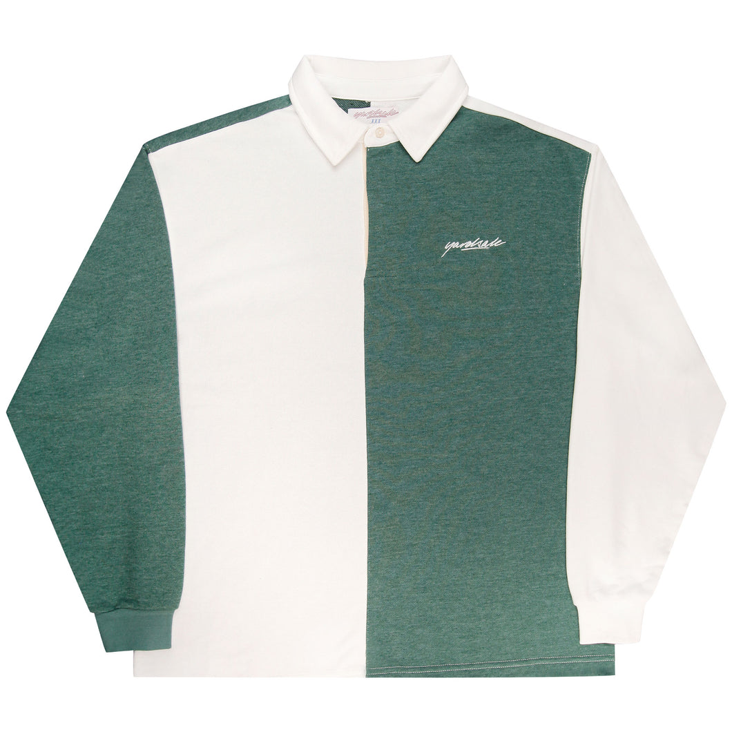 Tonic Longsleeve Polo (Forest/White)