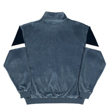 Cruz Velour Track Top Wolf Grey