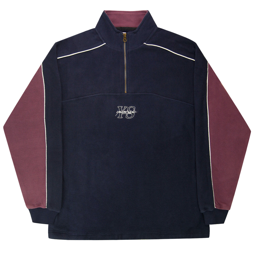 Pipeline Quarterzip (Navy/Lilac)