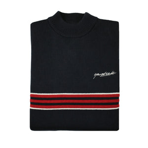 Pierre knitted Sweatshirt Navy