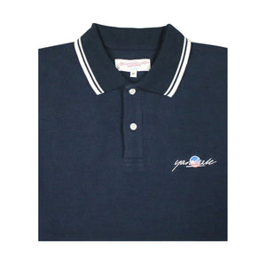 Lounge Polo Sweat Navy