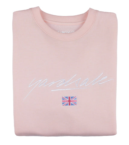Pink Commonwealth Sweatshirt