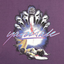 Scream T-shirt Purple