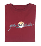 Burgundy Fade Long-sleeve