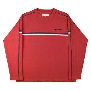 Pacific Ribbed Sweater Cardinal