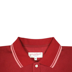 Lounge Polo Sweat Burgundy