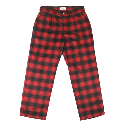 Tartan Slacks Red/Black