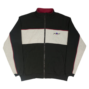 Southside Track Top Black/Heather