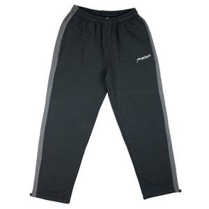 2tone tracksuit bottoms Black/Grey