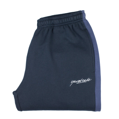 2tone tracksuit bottoms Navy/Asphalt