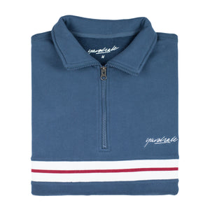 Blair Quarterzip Marine Blue