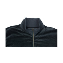 Miami Velour Quarterzip Black