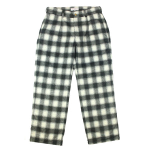 Tartan Slacks Black/White