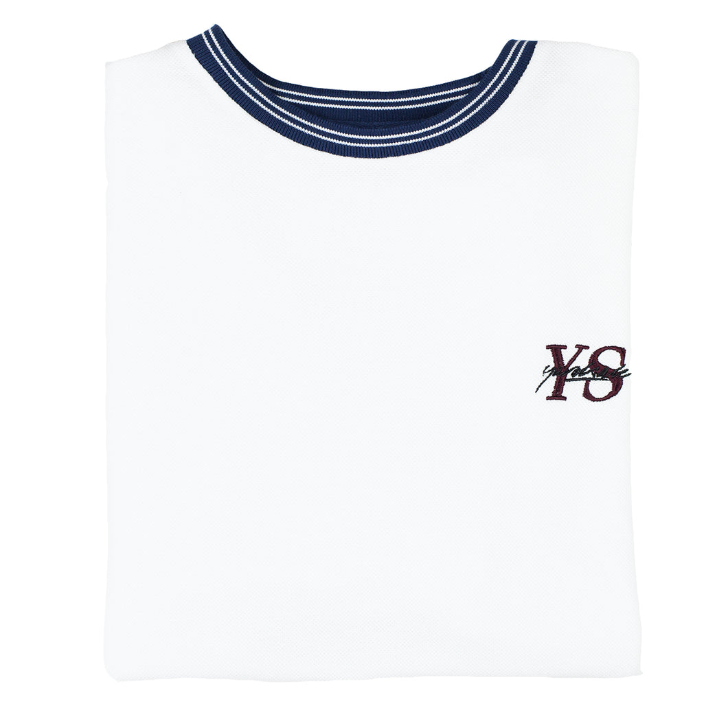 Polo YS T-shirt White