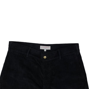 Corduroy Slacks Black