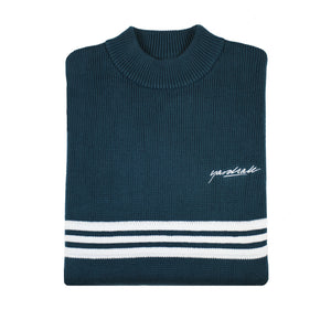 Pierre Knitted Sweatshirt Emerald