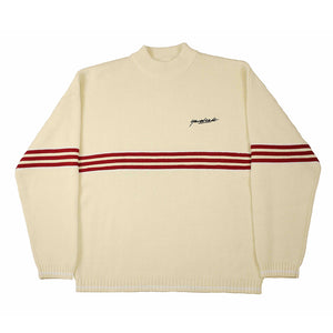 Pierre knitted Sweatshirt Cream