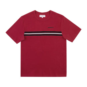 Ribbed Tee (Red)