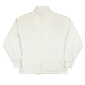 YS Draw string full zip Cream