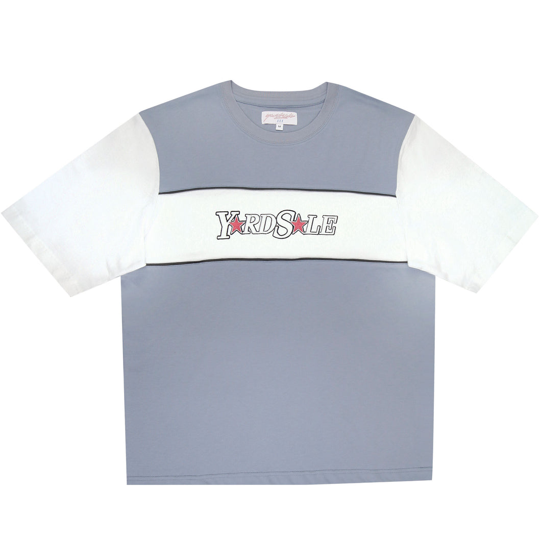 Swisher Tee (Light Blue/Cream)
