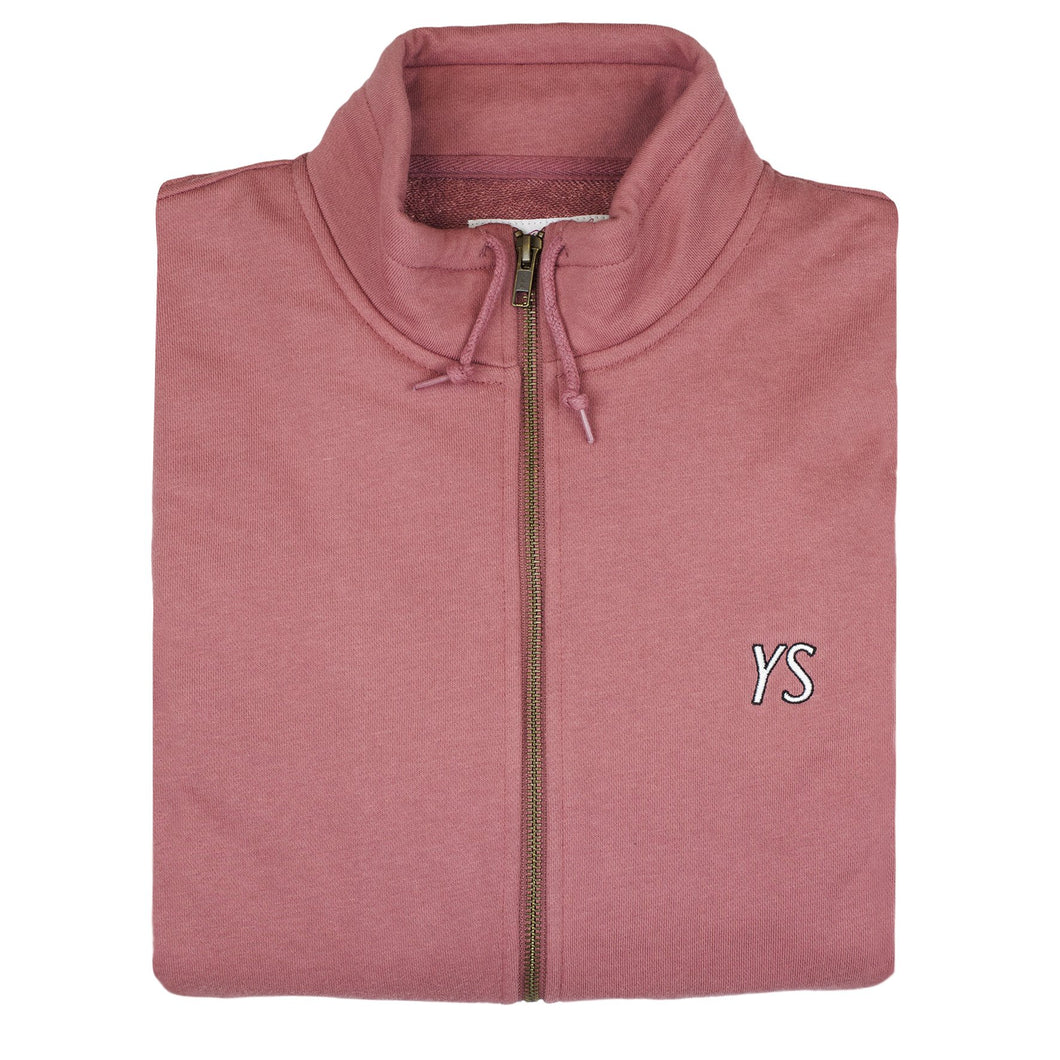 YS Draw String full-zip Rose