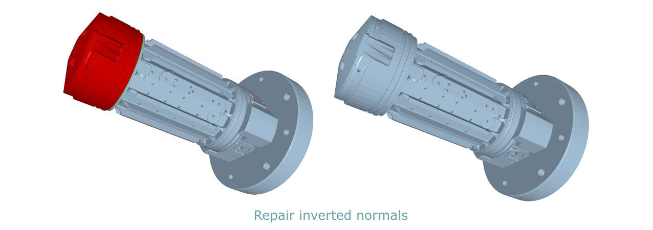 Repair inverted normals