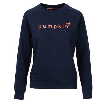 Nourish Sweatshirt - Navy Pumpkin - Annabel Brocks